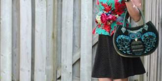 Easy DIY Floral Belt
