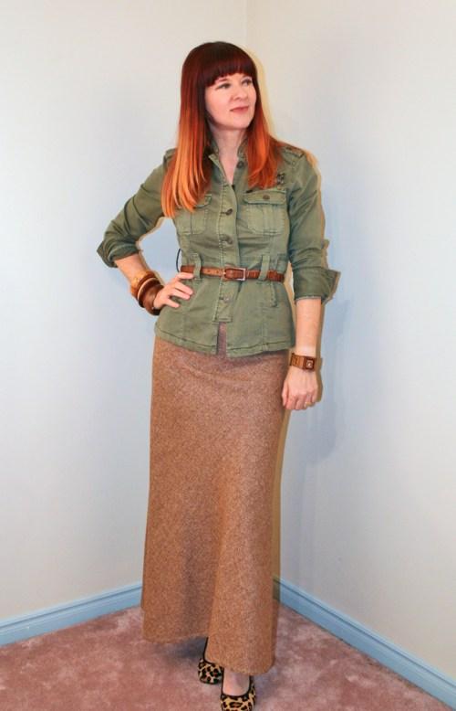 8 ways to style vintage skirts