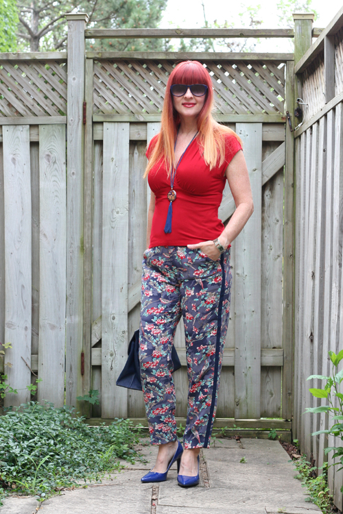 no fail tips how to wear printed pants over 50 suzanne carillo