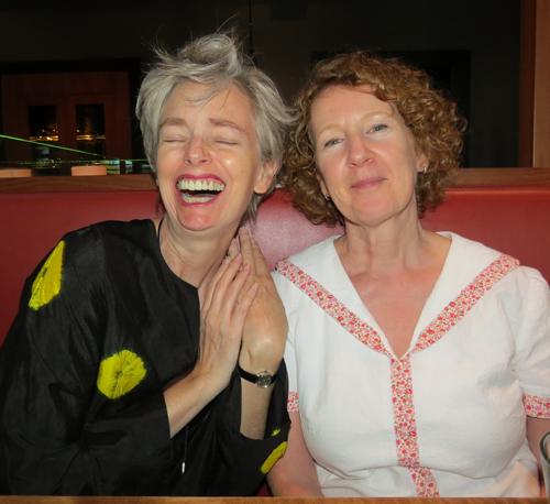 Mel Bag and a Beret Sue A Colourful Canvas Blogger Meet-up