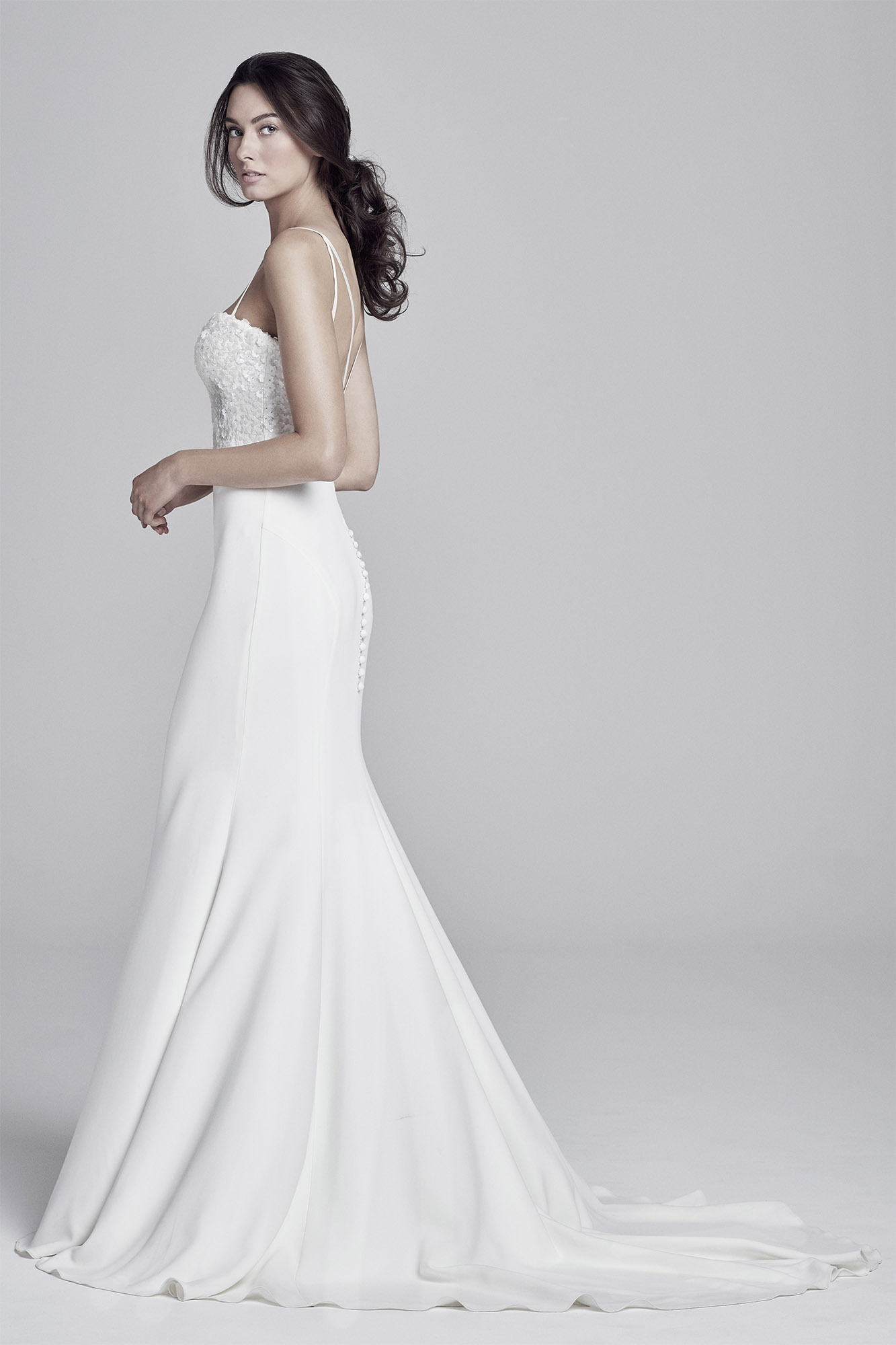 Shoulder Dress Bronte | Collections 2019 Lookbook | Uk Designer Wedding