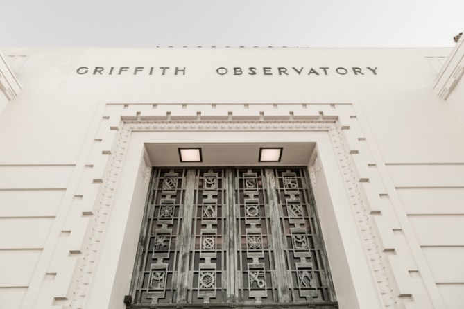 Griffith Observatory entrance