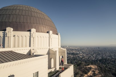 Griffith Observatory scenic lookout