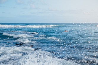 Rough waters, Kauai