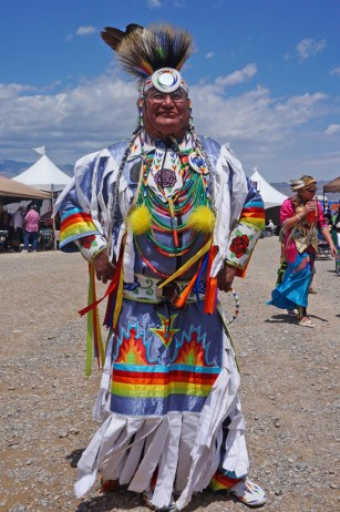 Pow-Wow full length attire, beadwork