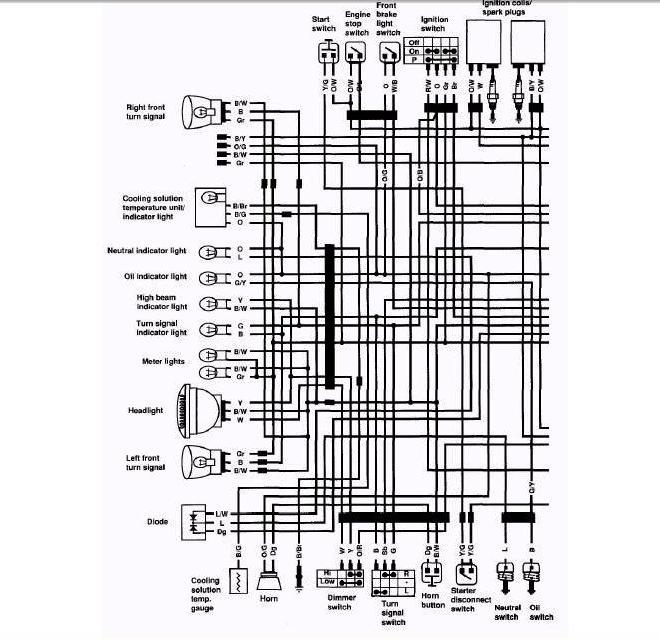 SUZUKI GS300 WIRING DIAGRAM - Auto Electrical Wiring Diagram