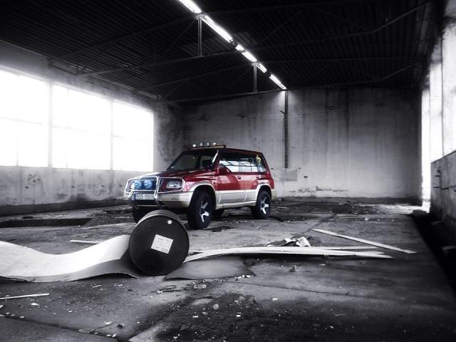 Suzol Łysego czyli Suzuki Vitara Long 2.0 V6