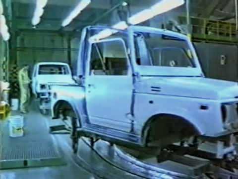 Suzuki Samurai – tak powstawała legenda – VIDEO z fabryki