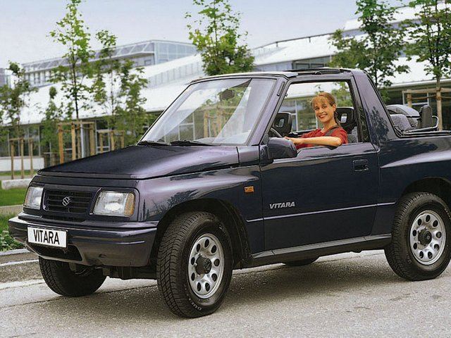 Suzuki Vitara I – takie miała reklamy…