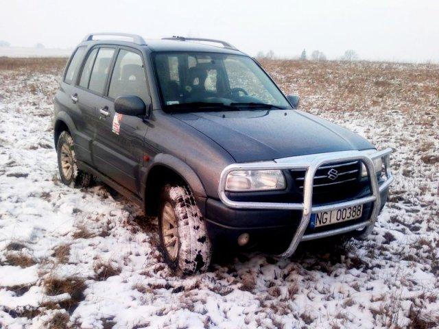 Suzuki Grand Vitara I Brunona – prosto z mazurskich bezdroży
