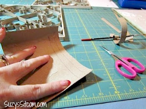 Faux Metal Wall Art Including Free Patterns