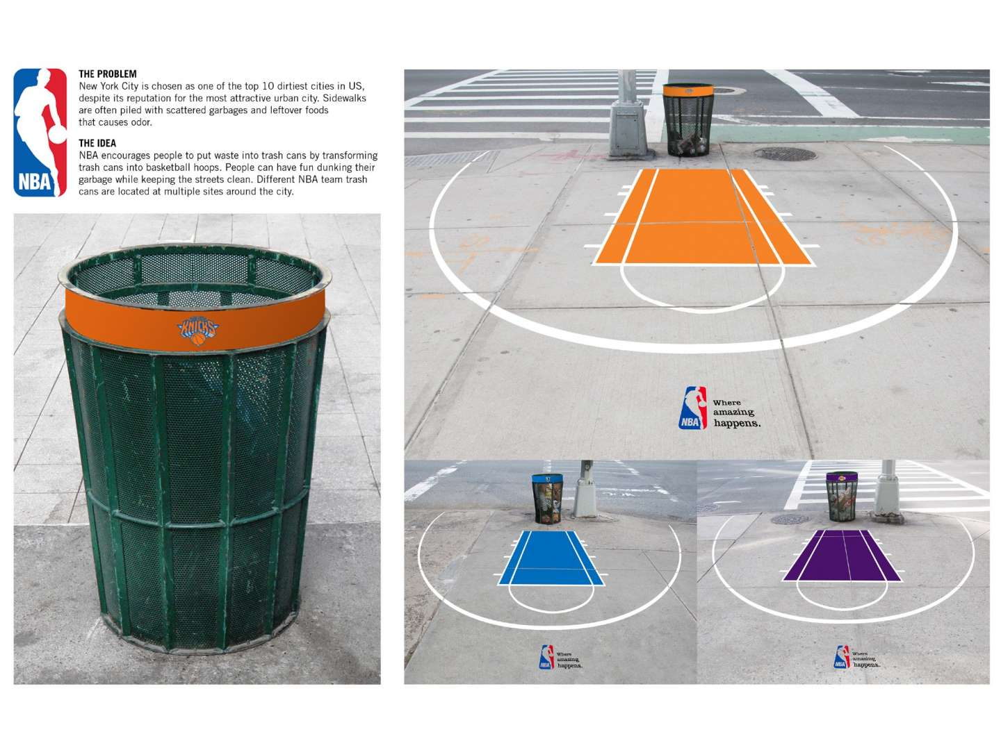Fun Trash Can Nba Trash Can Ad By Yoon Ha Chung Sva Design
