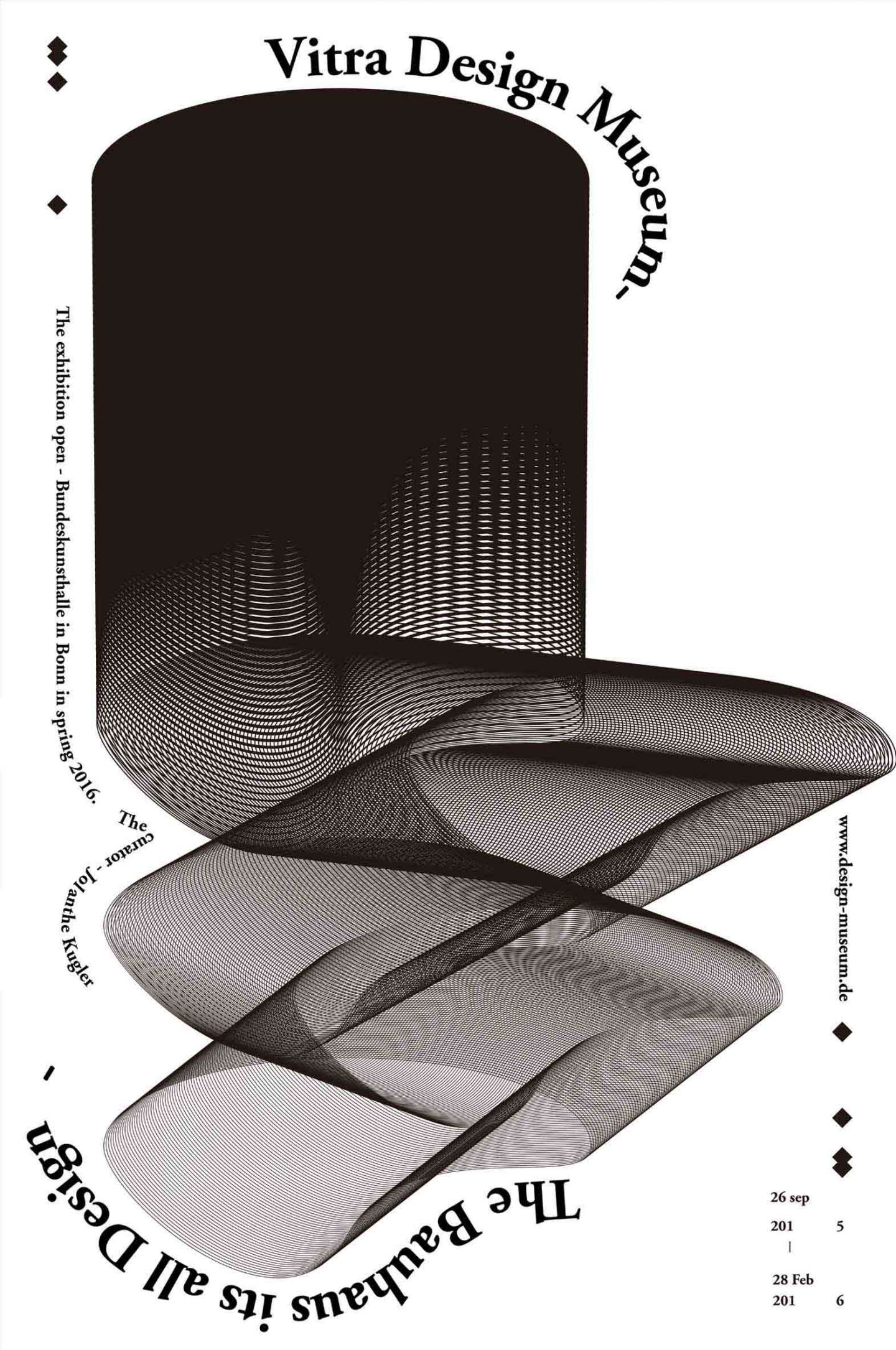 Vitra Chair Poster Vitra Design Museum By Eunsun Park Sva Design