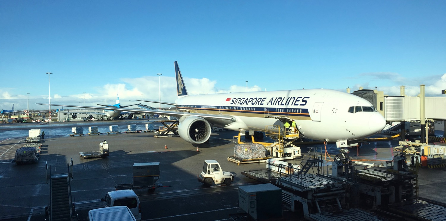 Amsterdam Naar Singapore Review Singapore Airlines Business Class In Der Boeing 777 300er