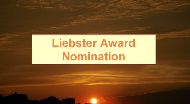 Liebster Award Nomination, Featured Image