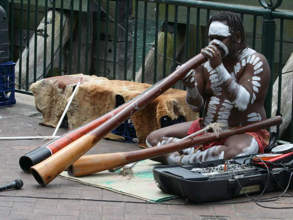 Didgeridoo - dictation practice