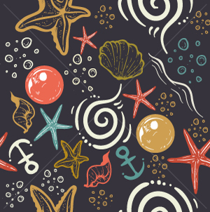 2.Ocean Seamless Pattern