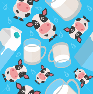 26.Cows Seamless Pattern