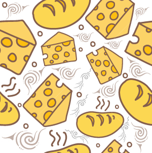 30.Breakfast Seamless Pattern
