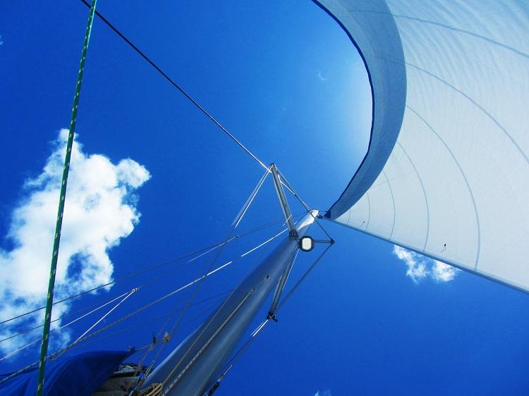 Sailing Under Jib Alone