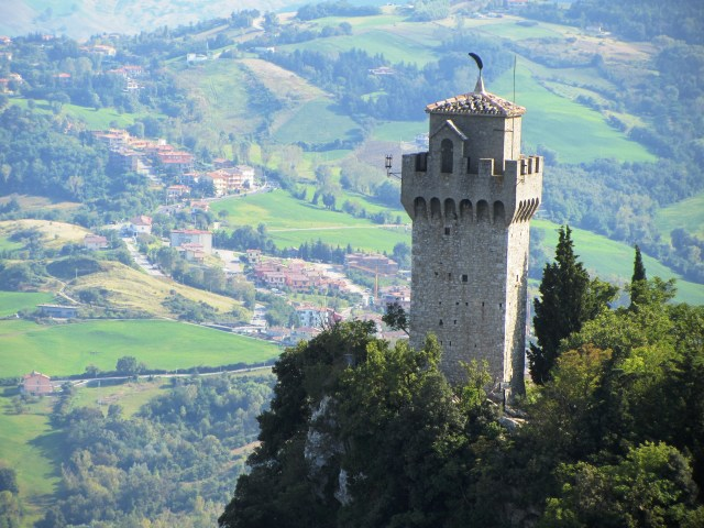 San Marino's 2nd tower