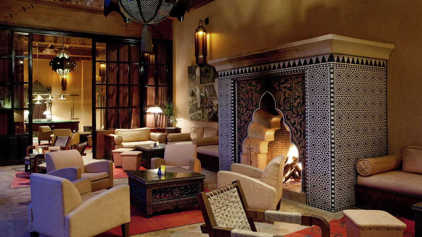 Salon Marrakech Morocco Golf Stay In Marrakech At The Hotel Les Jardins De La
