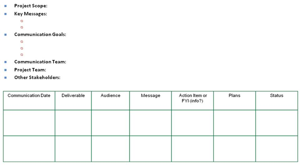client communication plan template - crisis communications plan examples