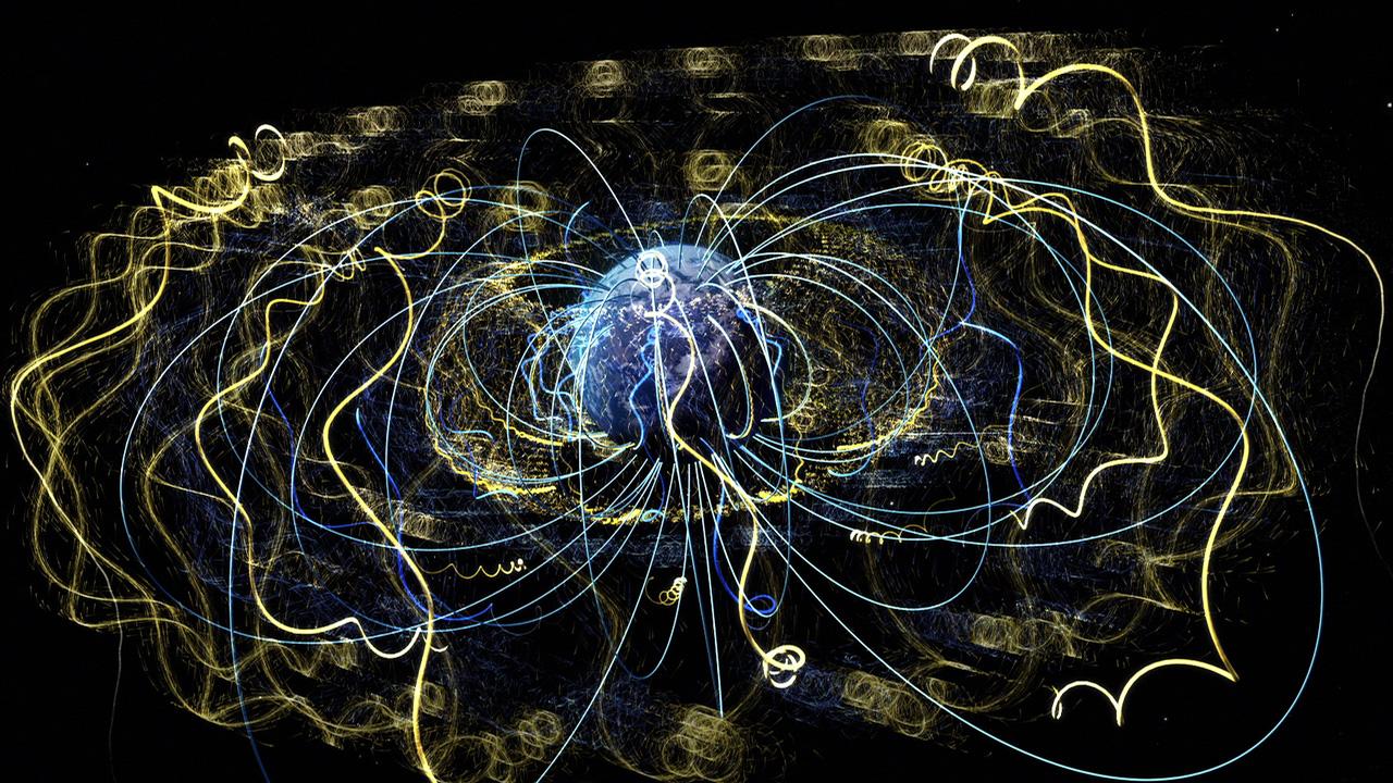 Nasa Viz Earth39s Magnetism In Action