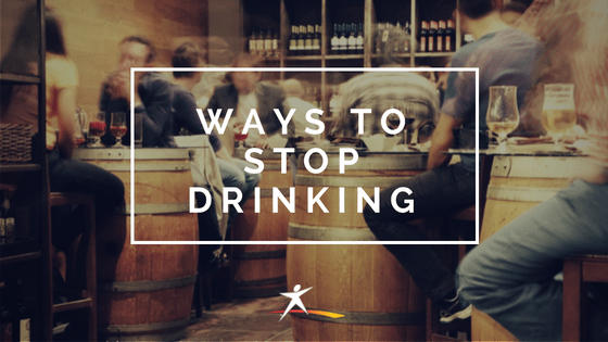 ways to stop drinking