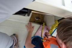 Max entdeckt ein Aquarium im Lenzer