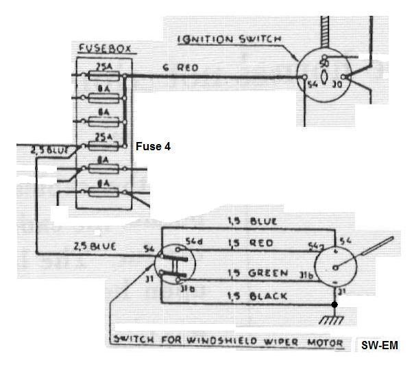 4 way switch terminals