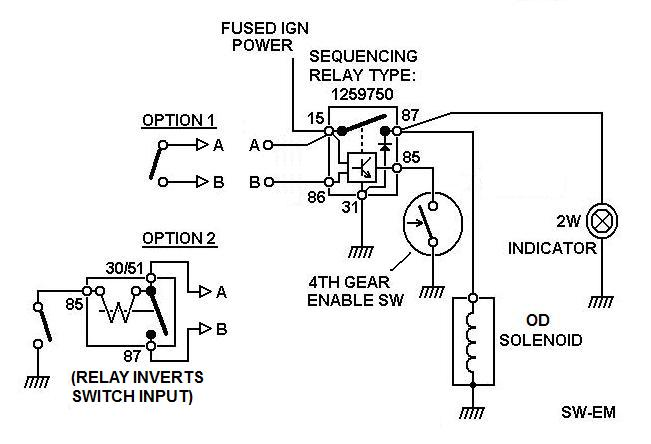 laycock overdrive wiring diagram