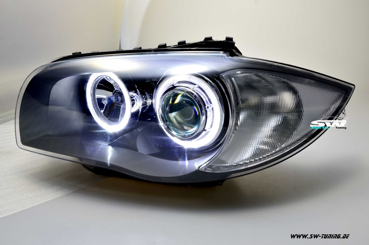 Halogen Als Led Angel Eye Scheinwerfer 1er Bmw E87 E88 E81 E82 04-11 High