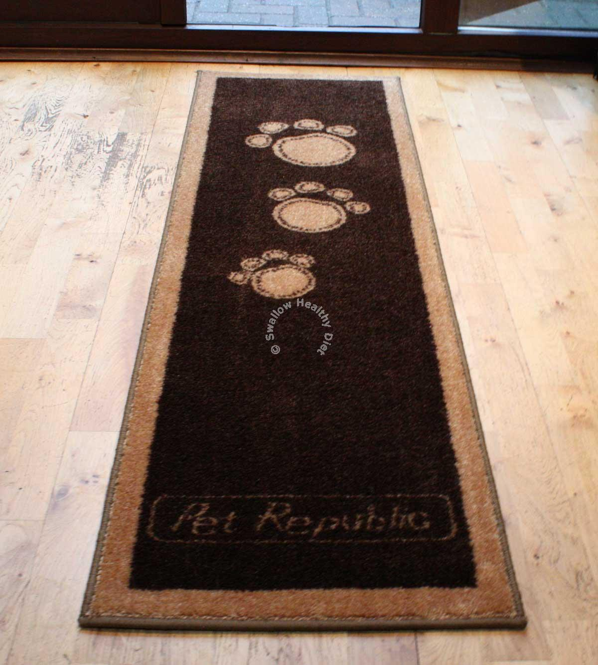 Dog Door Mats Outdoor Pet Rebellion Runner Stylish And Fun Floor Mat Dog Cat