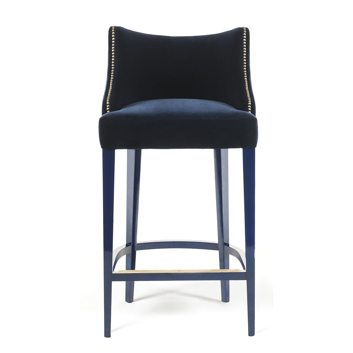 Living Room Stools Uk Designer Bar Stool Velvet Becomes Me Swanky Interiors