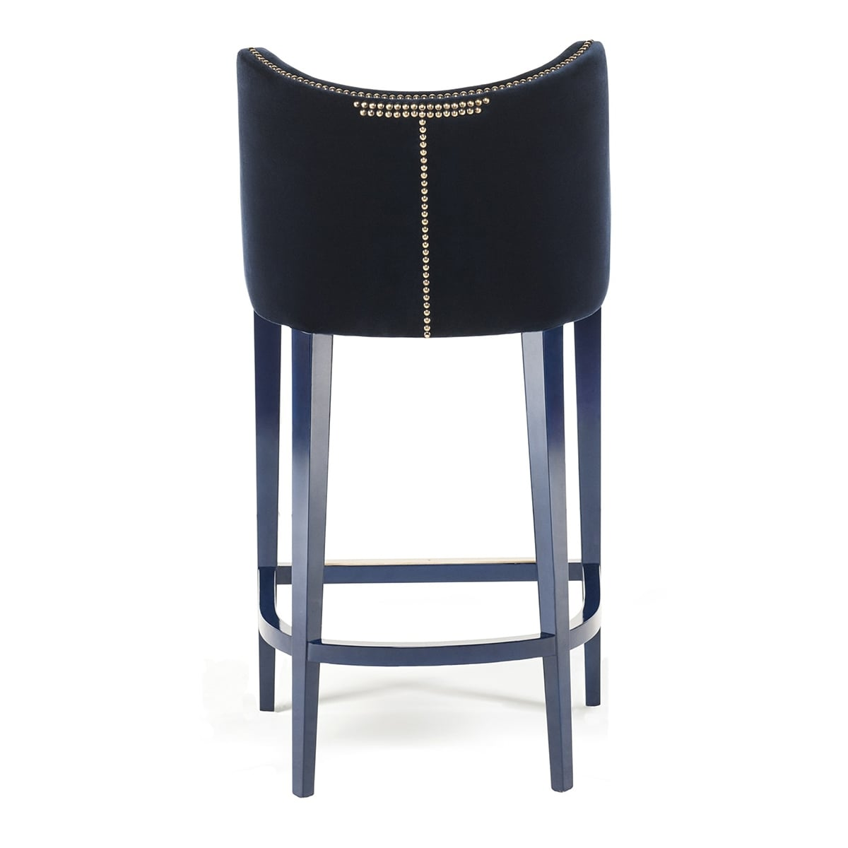 Luxury Bar Stools Designer Bar Stool Velvet Becomes Me Swanky Interiors
