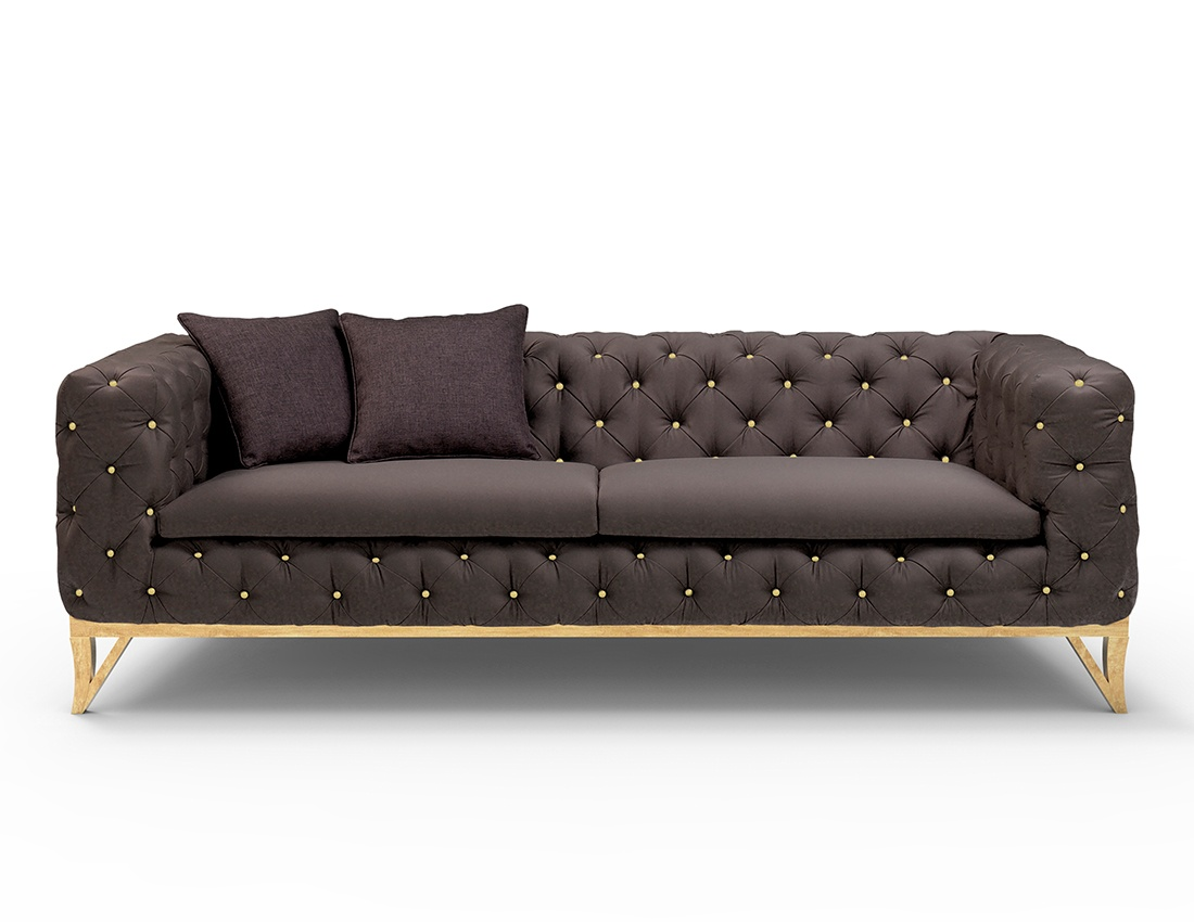 Sofa Set For Sale Abu Dhabi Buy Stylish Milan Black Velvet Sofa Designer Black