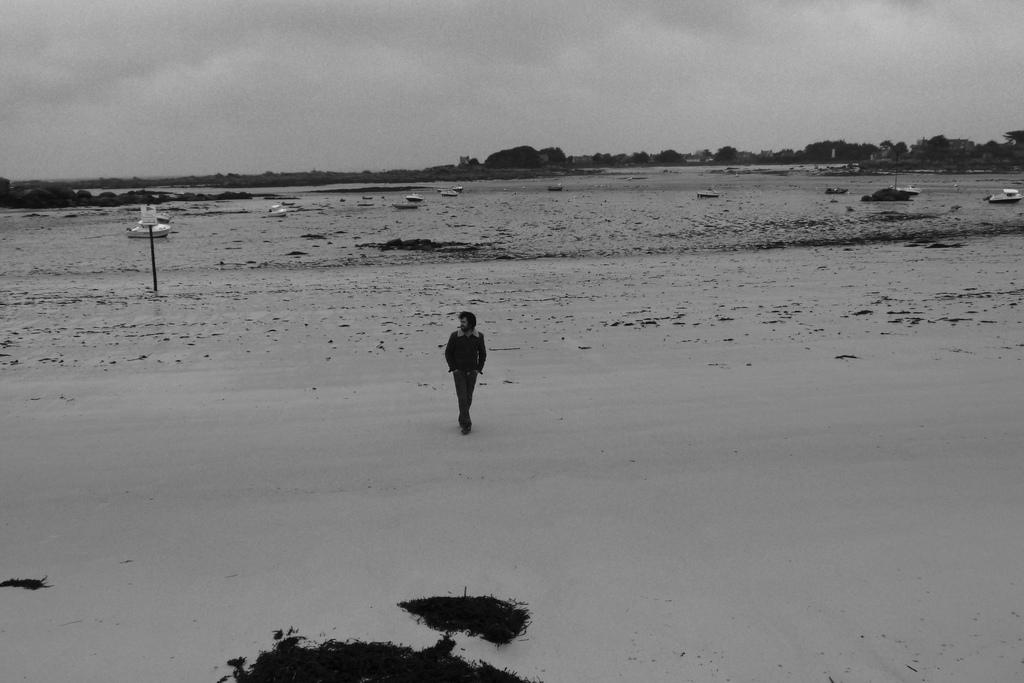 Eric a la plage