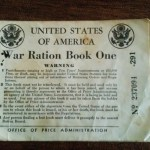 War Ration Book