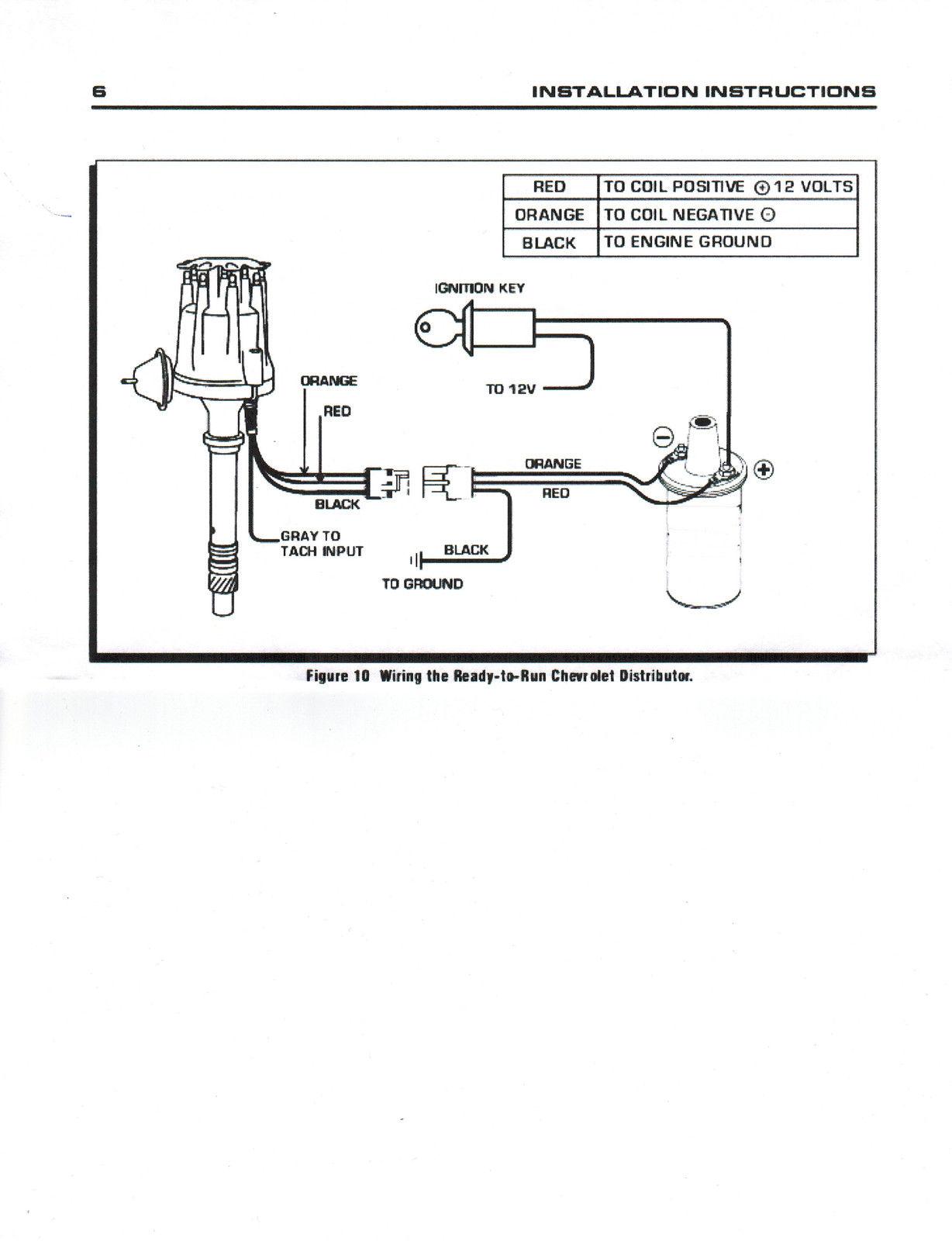 hei distributor spark plug wiring diagram