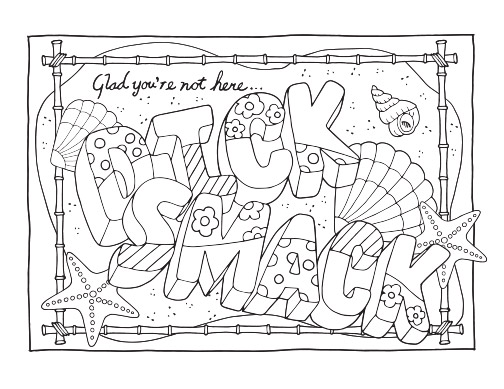 Swear Word Adult Coloring Pages - Free Printable Coloring Pages - how to get pages for free