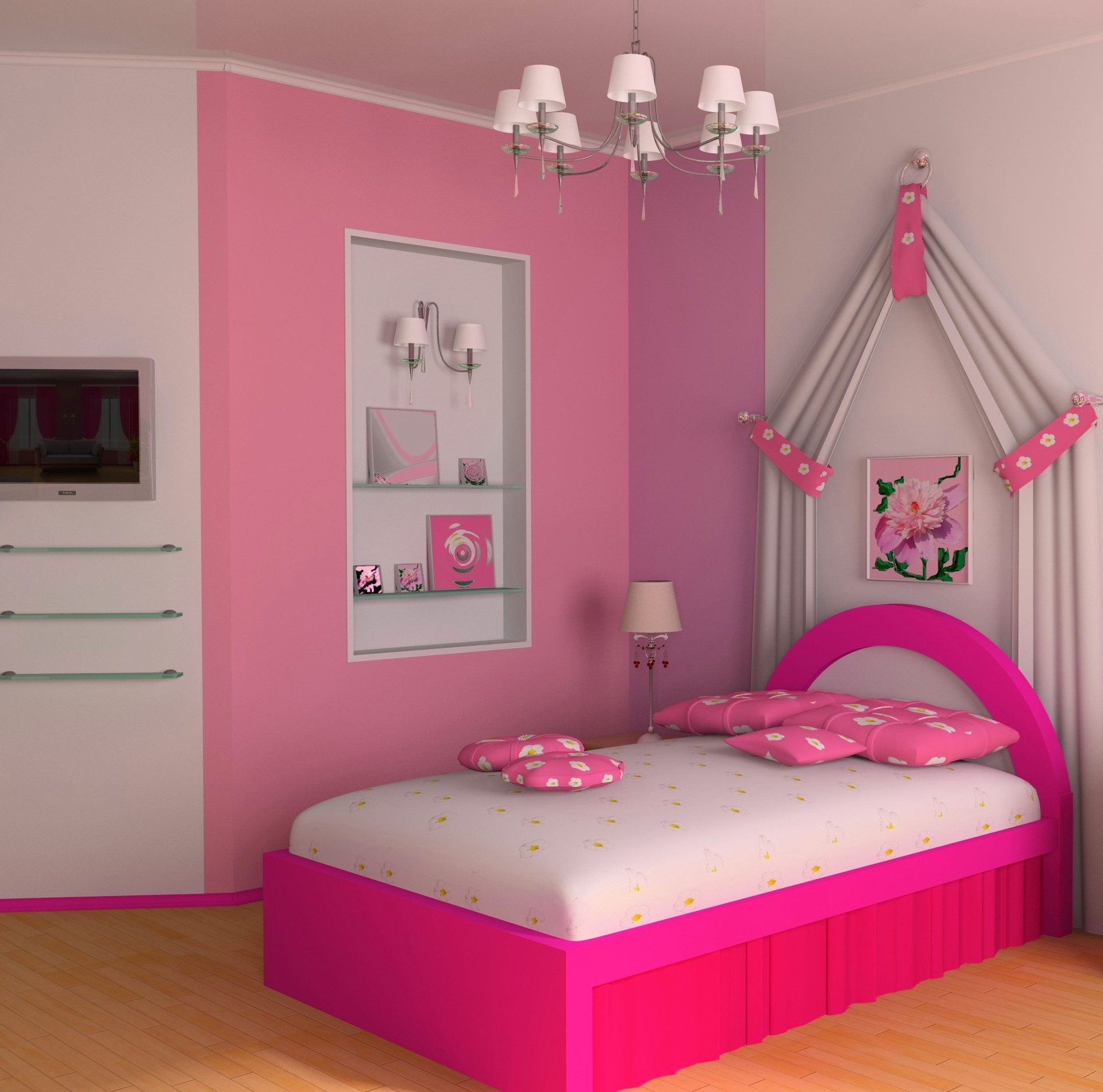 Teen Bedroom Ideas Girls Simple Pikn Barbie Themed Teen Girl Bedroom Design