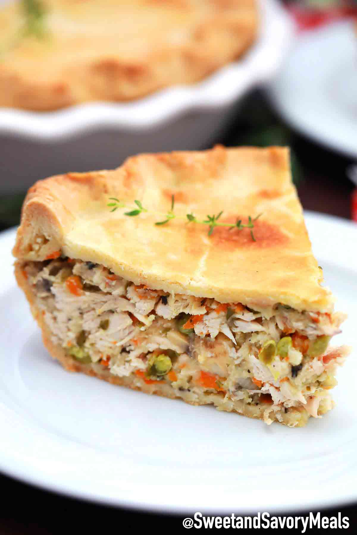 Turkey Pot Pie Recipe Video Sweet And Savory Meals