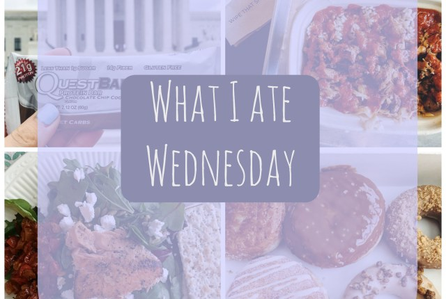 What I Ate Wednesday 6.8