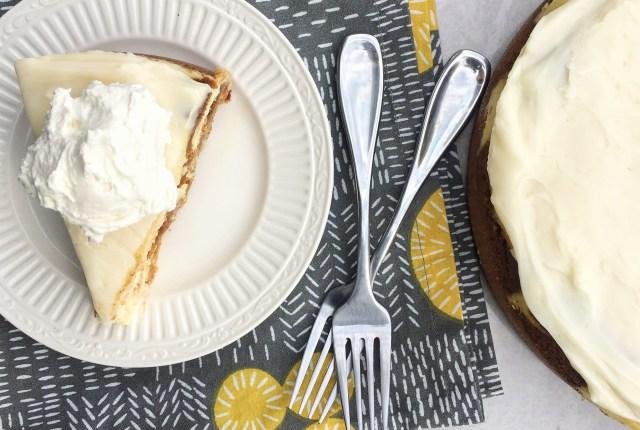 Pumpkin Cheesecake Cake
