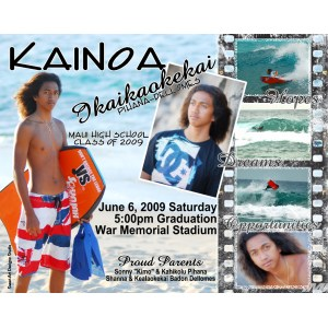 Grande In Graduation Announcement Kainoa Graduation Announcement Idea Class Boys 2009 Twin Graduation Announcement Ideas Graduation Announcement Ideas