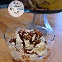 Oreo Cookies n' Toffee Crunch Trifle