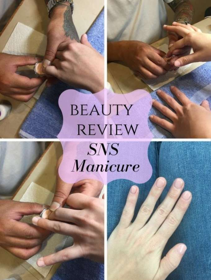 A beauty review of the Signature Nail Service manicure with dip powder. Pros, cons, and more!