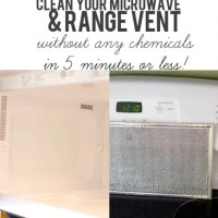 Clean Your Microwave & Range Grate in Under 5 Minutes With No Chemicals!
