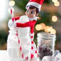 Welcome Elf on a Shelf Cocoa Party & Printables